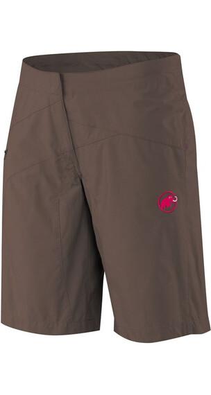 Mammut W's Rockland Shorts Dark Oak-Raspberry (7276)